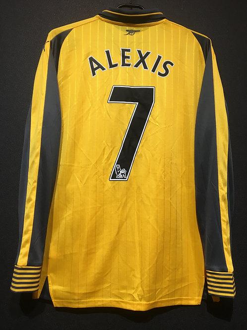【2016/17】 / Arsenal / Away / No.7 ALEXIS