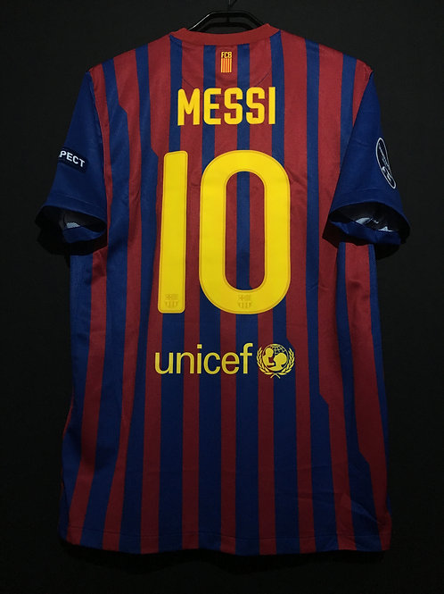 【2011/12】 / FC Barcelona / Home / No.10 MESSI / UCL