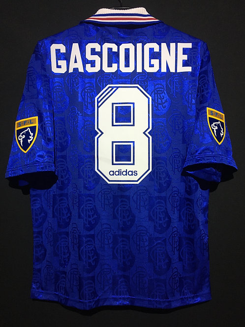 【1996/97】 / Rangers F.C. / Home / No.8 GASCOIGNE