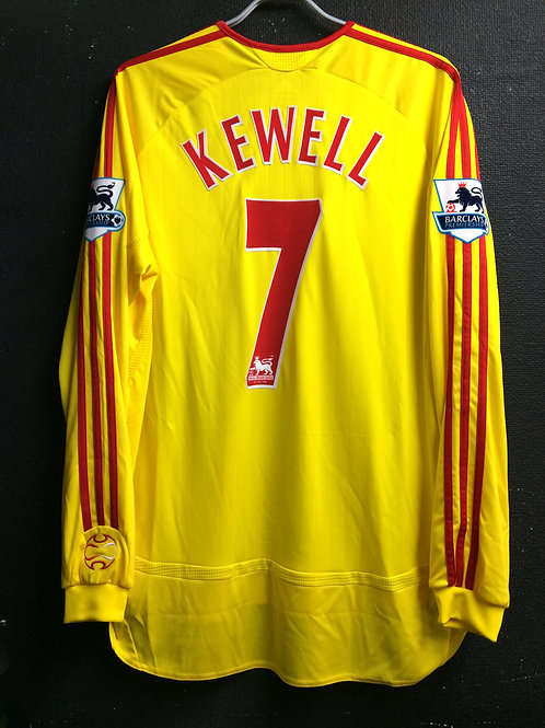 【2006/07】 / Liverpool / Away / No.7 KEWELL / Player Issue