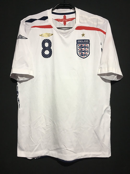 【2007/09】 / England / Home / No.8 LAMPARD