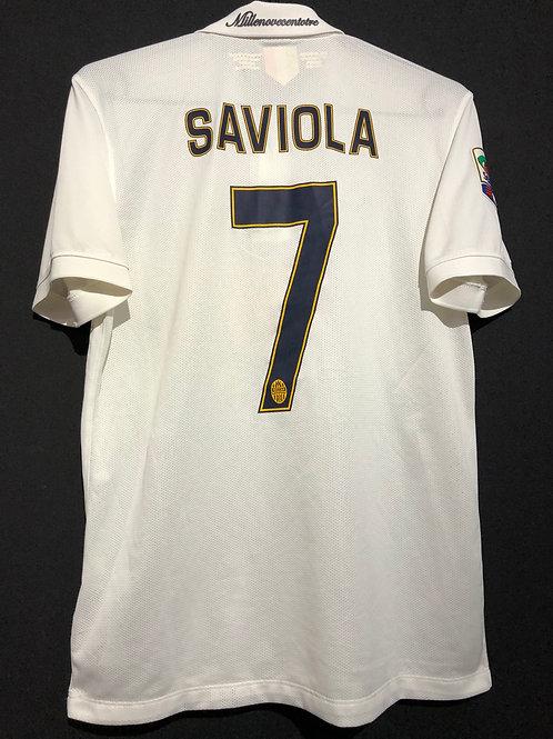 【2014/15】 / Hellas Verona / Away / No.7 SAVIOLA