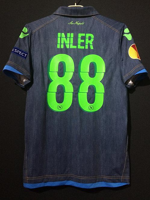 【2014/15】 / S.S.C. Napli / Away / No.88 INLER / UEL / Authentic