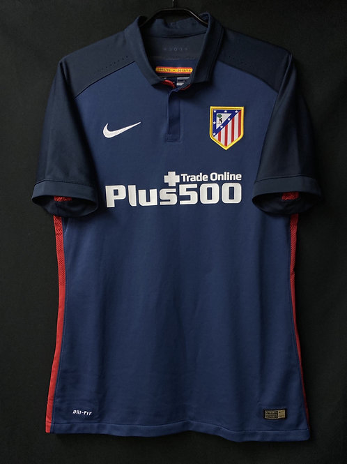 【2015/16】 / Atletico Madrid / Away / Player Issue