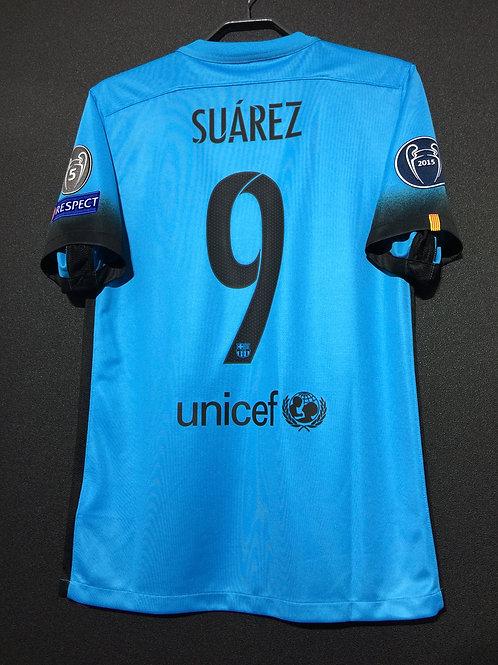 【2015/16】 / FC Barcelona / 3rd / No.9 SUAREZ / UCL