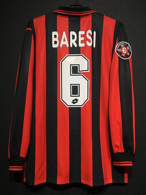 【1997】 / A.C. Milan / SP / No.6 BARESI / Testimonial Game