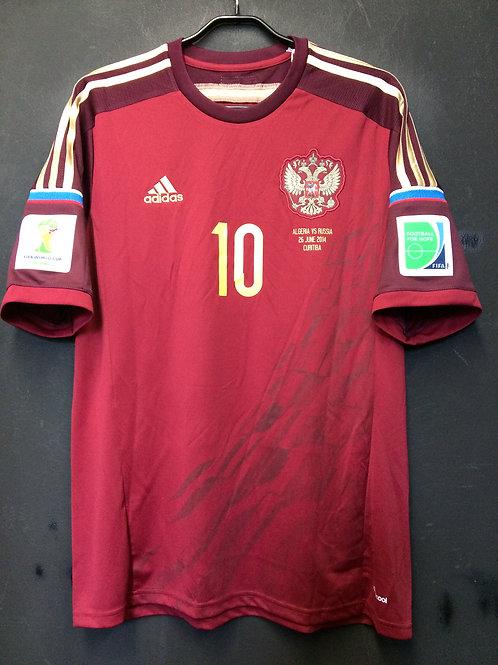 【2014】 / Russia / Home / No.10 DZAGOEV / FIFA World Cup