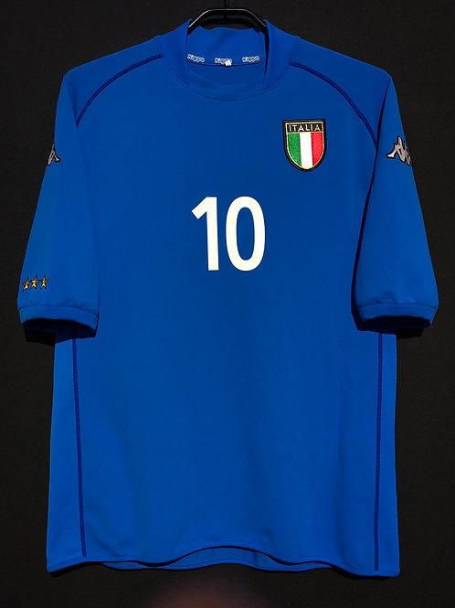 【2002】 / Italy / Home / No.10 TOTTI
