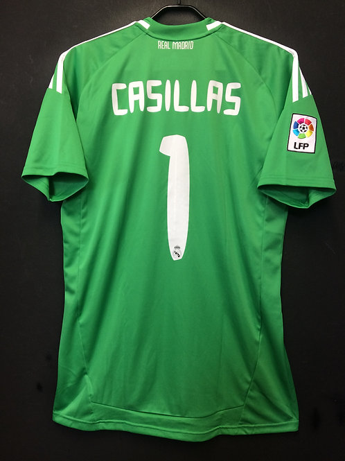 【2010/11】 / Real Madrid C.F. / GK / No.1 CASILLAS