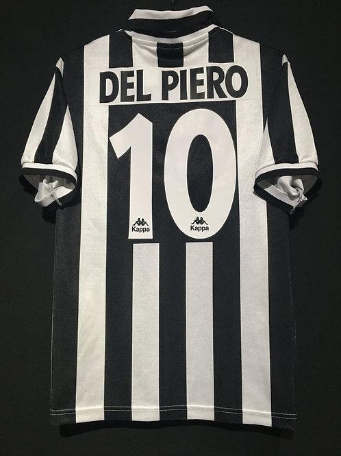 【1996/97】 / Juventus / Home / No.10 DEL PIERO / Phase1