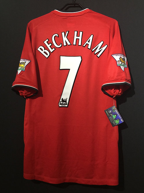 【2000/01】 / Manchester United / Home / No.7 BECKHAM