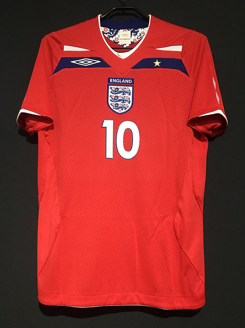 【2008/10】 / England / Away / No.10 GERRARD