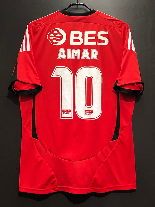 【2008/09】 / SL Benfica / Home / No.10 AIMAR