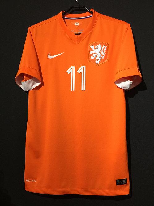 【2014/15】 / Netherlands / Home / No.11 ROBBEN
