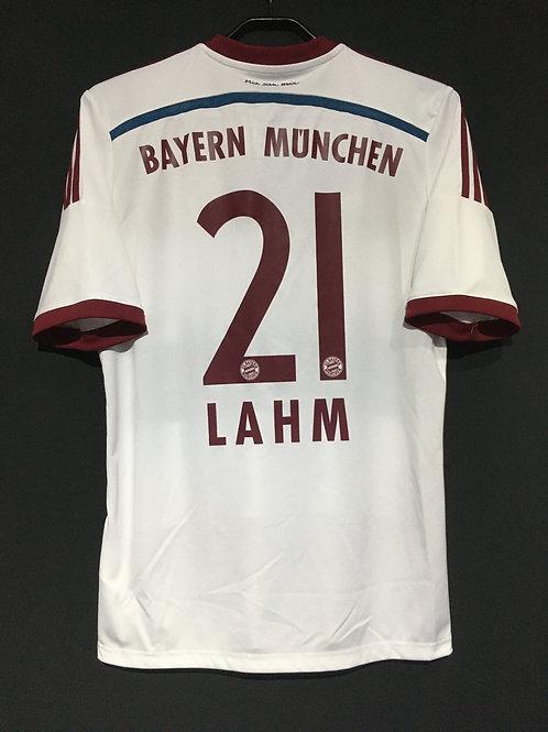 【2014/15】 / FC Bayern Munich / Away / No.21 LAHM