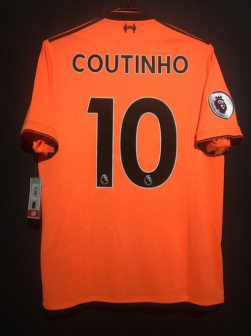 【2017/18】 / Liverpool / 3rd / No.10 COUTINHO