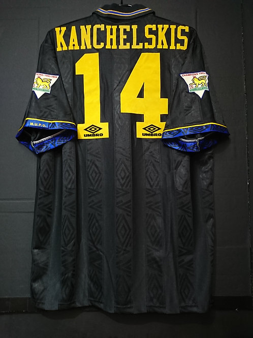 【1994/95】 / Manchester United / Away / No.14 KANCHELSKIS / Player Issue