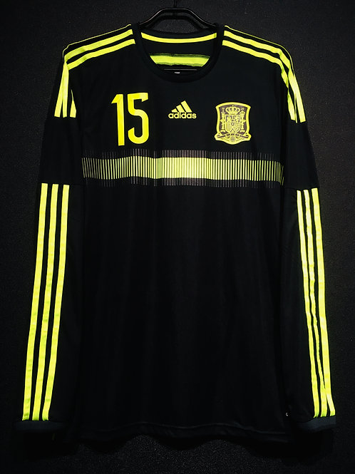 【2015】 / Spain / Away / No.15 SERGIO RAMOS / Player Issue