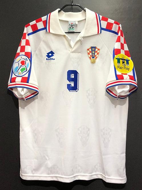 【1996】 / Croatia / Away / No.9 SUKER / UEFA European Championship