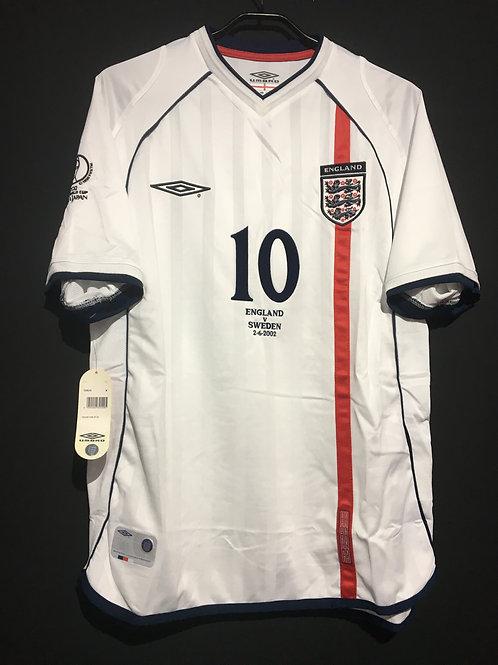 【2002】 / England / Home / No.10 OWEN / FIFA World Cup