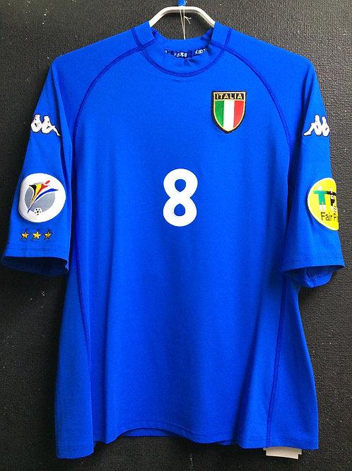 【2000】 / Italy / Home / No.8 CONTE / UEFA European Championship