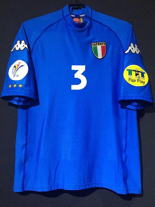【2000】 / Italy / Home / No.3 MALDINI / UEFA European Championship