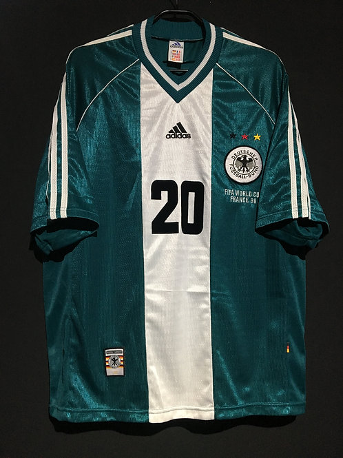 【1998】 / Germany / Away / No.20 BIERHOFF / FIFA World Cup