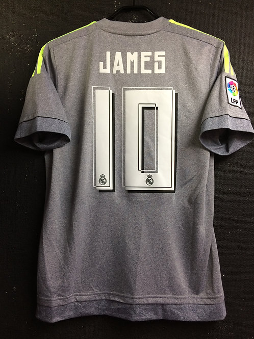 【2015/16】 / Real Madrid C.F. / Away / No.10 JAMES