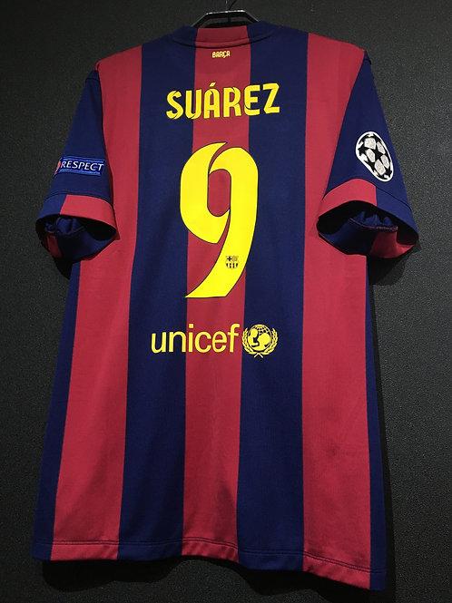 【2015】 / FC Barcelona / Home / No.9 SUAREZ / UCL FINAL