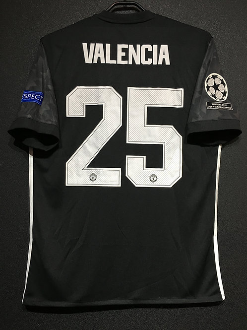 【2017/18】 / Manchester United / Away / No.25 VALENCIA / UCL