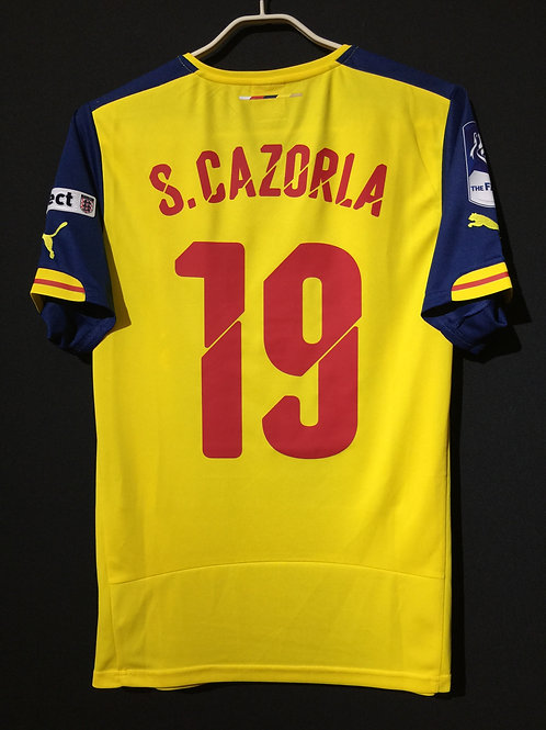 【2015】 / Arsenal / Away / No.19 S.CAZORLA / FA Cup Final