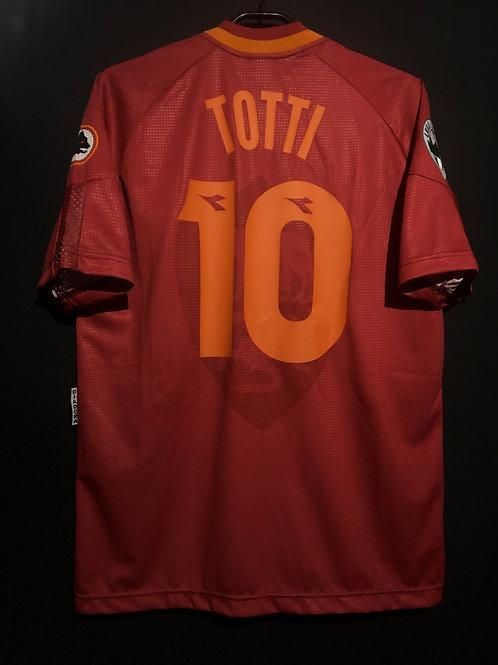 【1997/98】 / A.S. Roma / Home / No.10 TOTTI