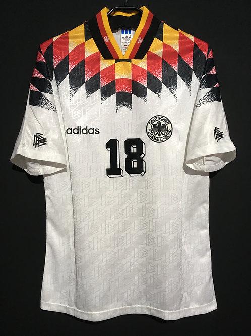 【1994/95】 / Germany / Home / No.18 KLINSMANN