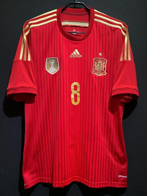【2014】 / Spain / Home / No.8 XAVI