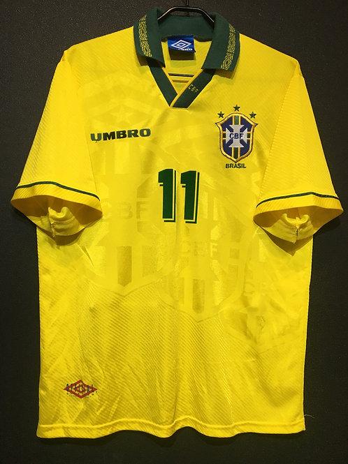 【1993/94】 / Brazil / Home / No.11 ROMARIO