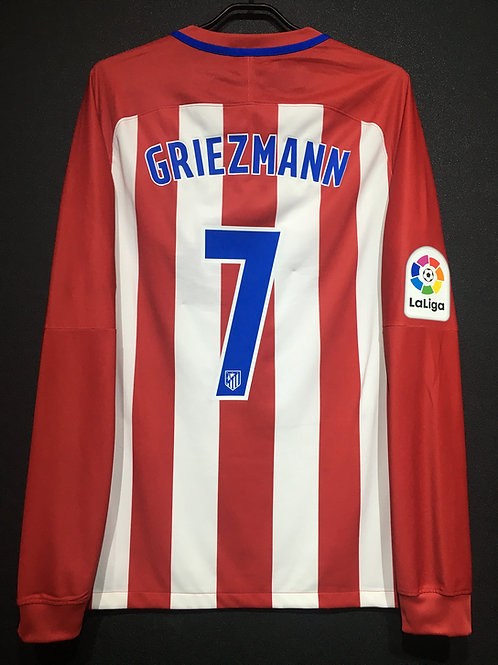 【2016/17】 / Atletico Madrid / Home / No.7 GRIEZMANN / Player Issue