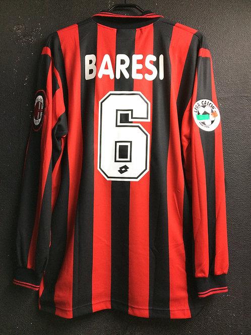 【1996/97】 / A.C. Milan / Home / No.6 BARESI