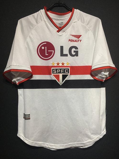 【2001】 / Sao Paulo FC / Home / No.10
