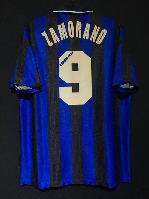 【1996/97】 / Inter Milan / Home / No.9 ZAMORANO