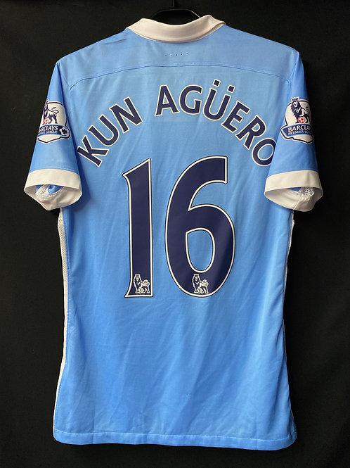 【2015/16】/ Manchester City / Home / No.10 KUN AGUERO / Authentic