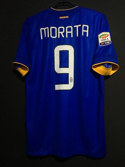 【2014/15】 / Juventus / Away / No.9 MORATA