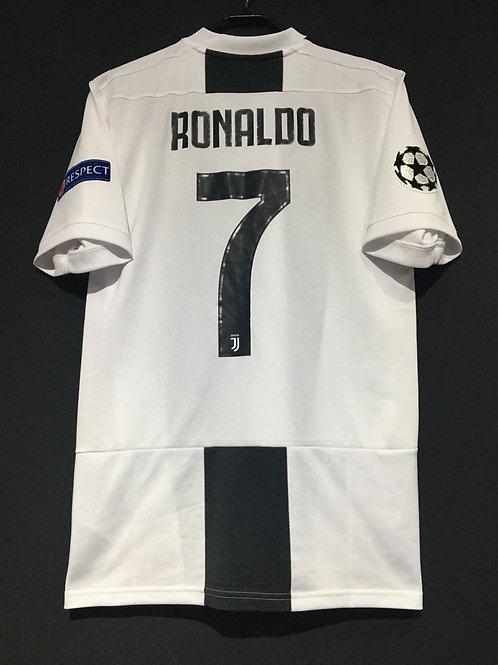【2018/19】 / Juventus / Home / No.7 RONALDO / UCL