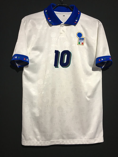 【1994】 / Italy / Away / No.10 R.BAGGIO / Reproduction