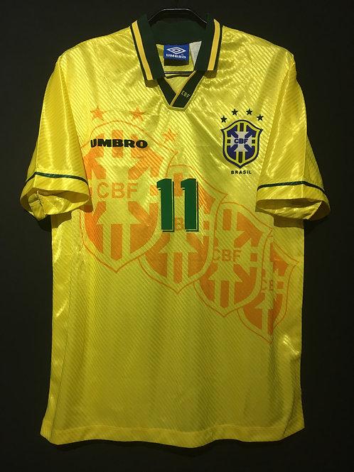 【1995/96】 / Brazil / Home / No.11 ROMARIO