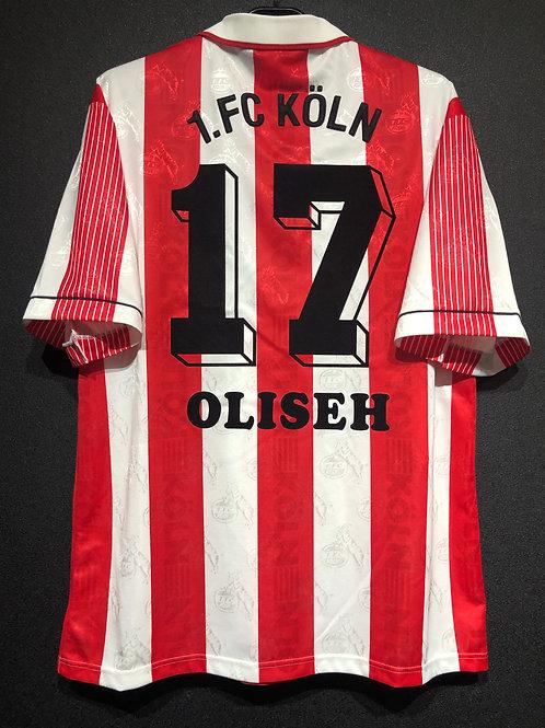 【1995/96】 / 1. FC Köln / Home / No.17 OLISHE