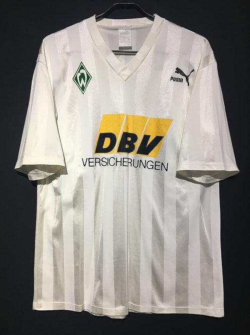 【1992/93】 / Werder Bremen / Home