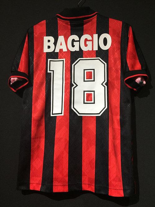 【1995/96】 / A.C. Milan / Home / No.18 BAGGIO / Phase1