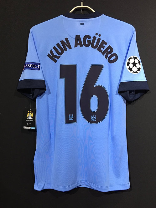 【2014/15】/ Manchester City / Home / No.16 KUN AGUERO / UCL