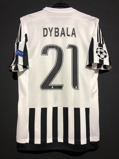 【2015/16】 / Juventus / Home / No.21 DYBALA / UCL