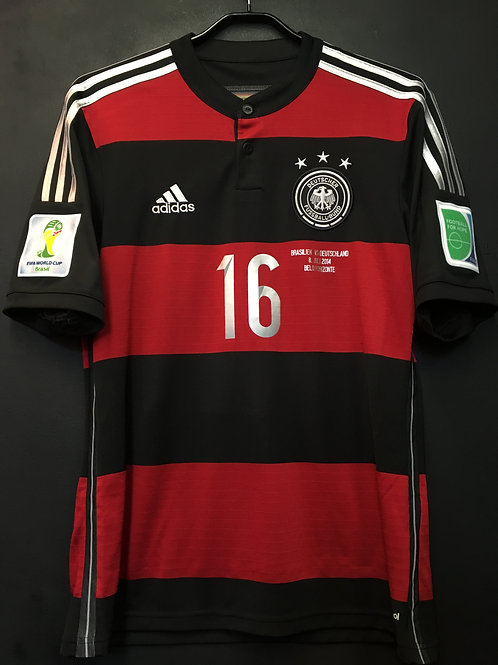 【2014】 / Germany / Away / No.16 LAHM / FIFA World Cup